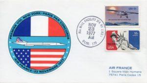 Plis philatéliques commémoratifs dConcode, FD, New York-Paris, F-BVFD, Collection