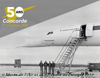 Musée de l'Air et de l'Espace au Bourget, MAE, 50 ème anniversaire du 1er vol du Concorde, aile Delta, F-TWSS