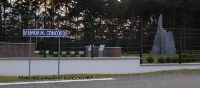 Mémorial Concorde de CDG